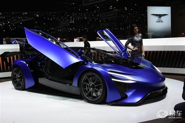 泰克鲁斯·腾风GT96量产版或2017年发布