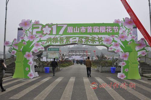 洪雅县第二届采茶节正式开幕